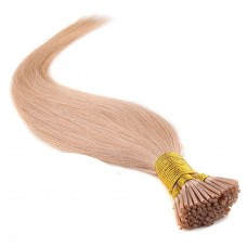 50g 0.5g/s Straight I-Tip Hair Extensions #27 Dark Blonde
