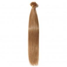 100s 0.5g/s Straight U-Tip Hair Extensions #12 Light Golden Brown