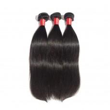 3 Bundles Straight 6A Virgin Peruvian Hair 300g