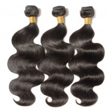 3 Bundles Body Wavy 6A Virgin Brazilian Hair 300g