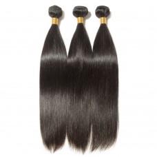 3 Bundles Straight 6A Virgin Brazilian Hair 300g