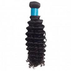"""10""""-24"""" 6A Deep Curly Virgin Malaysian Hair 100g"""