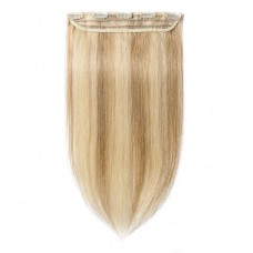 1 Piece Straight Clip In Remy Hair Extensions #18/613
