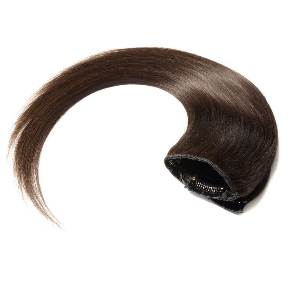 1 Piece Straight Clip In Remy Hair Extensions 1b Natural