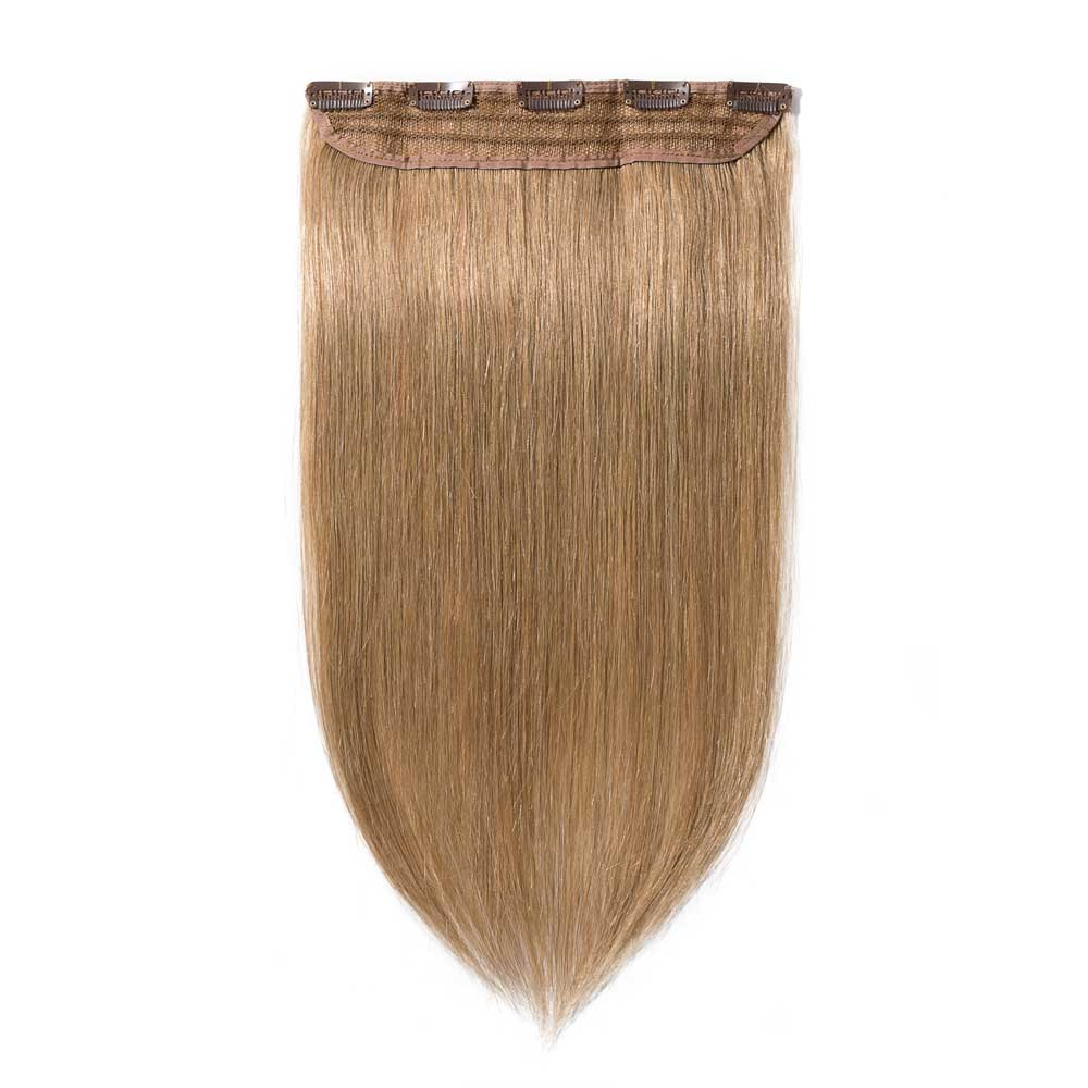1 Piece Straight Clip In Remy Hair Extensions #27 Dark Blonde