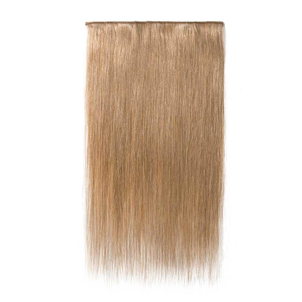 1 Piece Straight Clip In Remy Hair Extensions 27 Dark Blonde