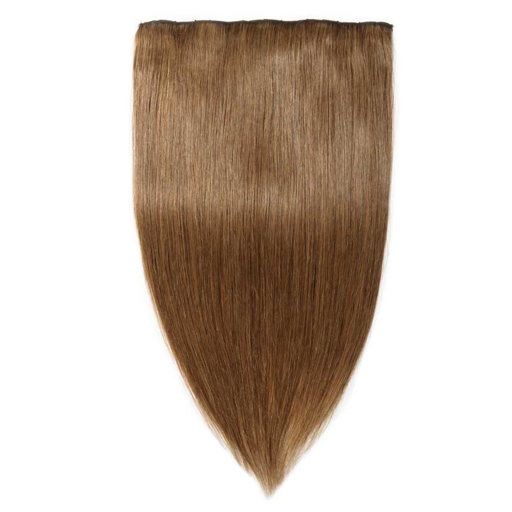 1 Piece Straight Clip In Remy Hair Extensions 1 Dark Black