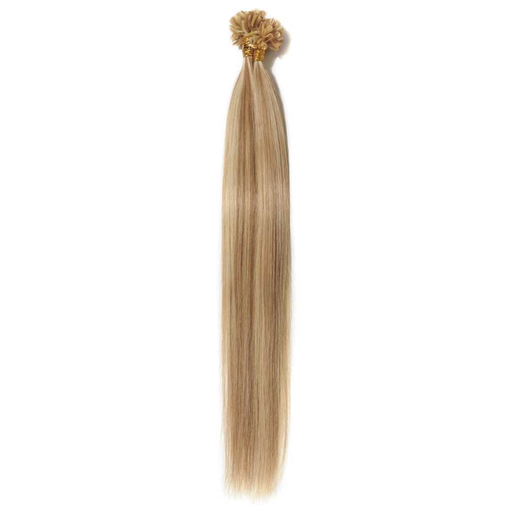 100s 0.5g/s Straight U-Tip Hair Extensions #12/613