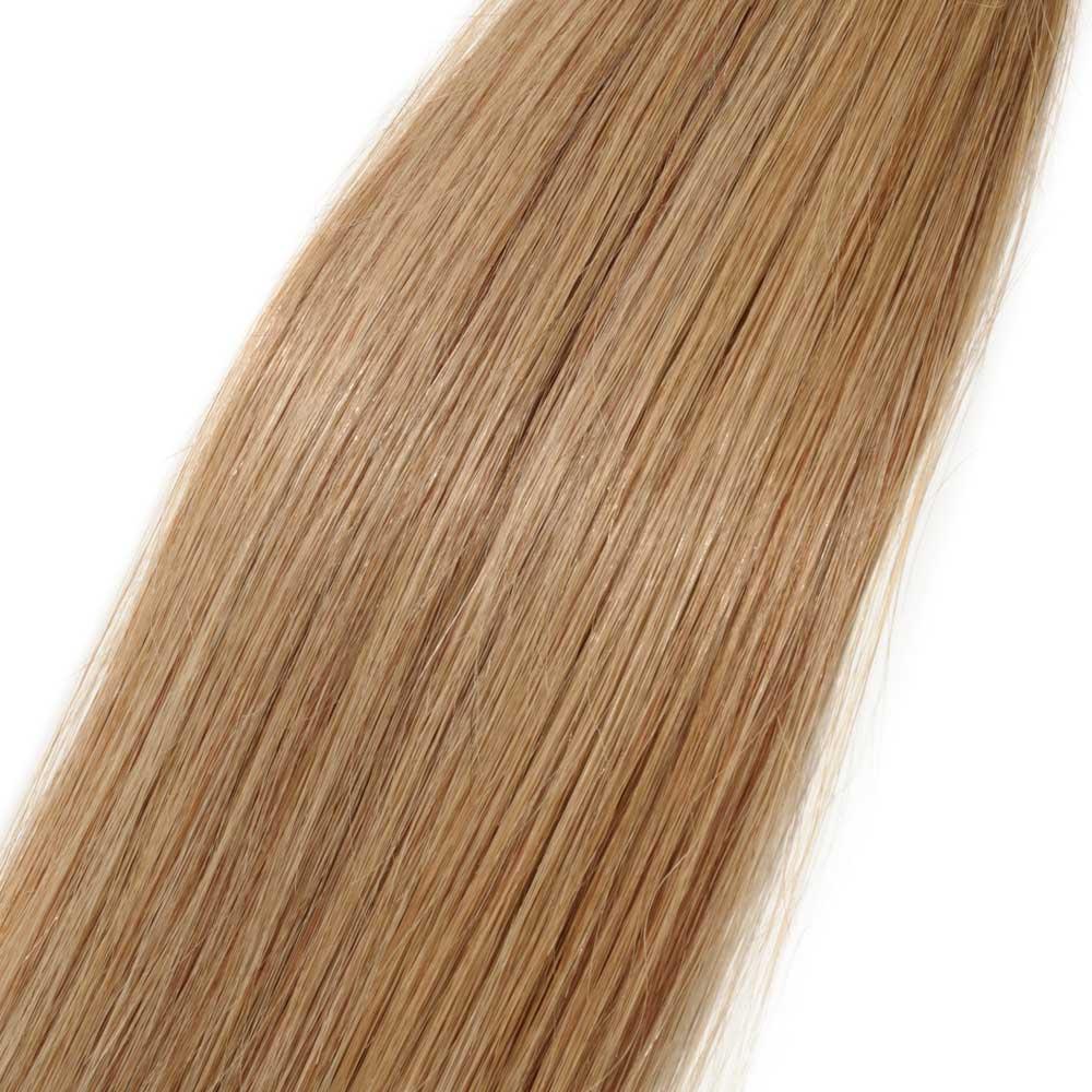 100s 05gs Straight U Tip Hair Extensions 27 Dark Blonde