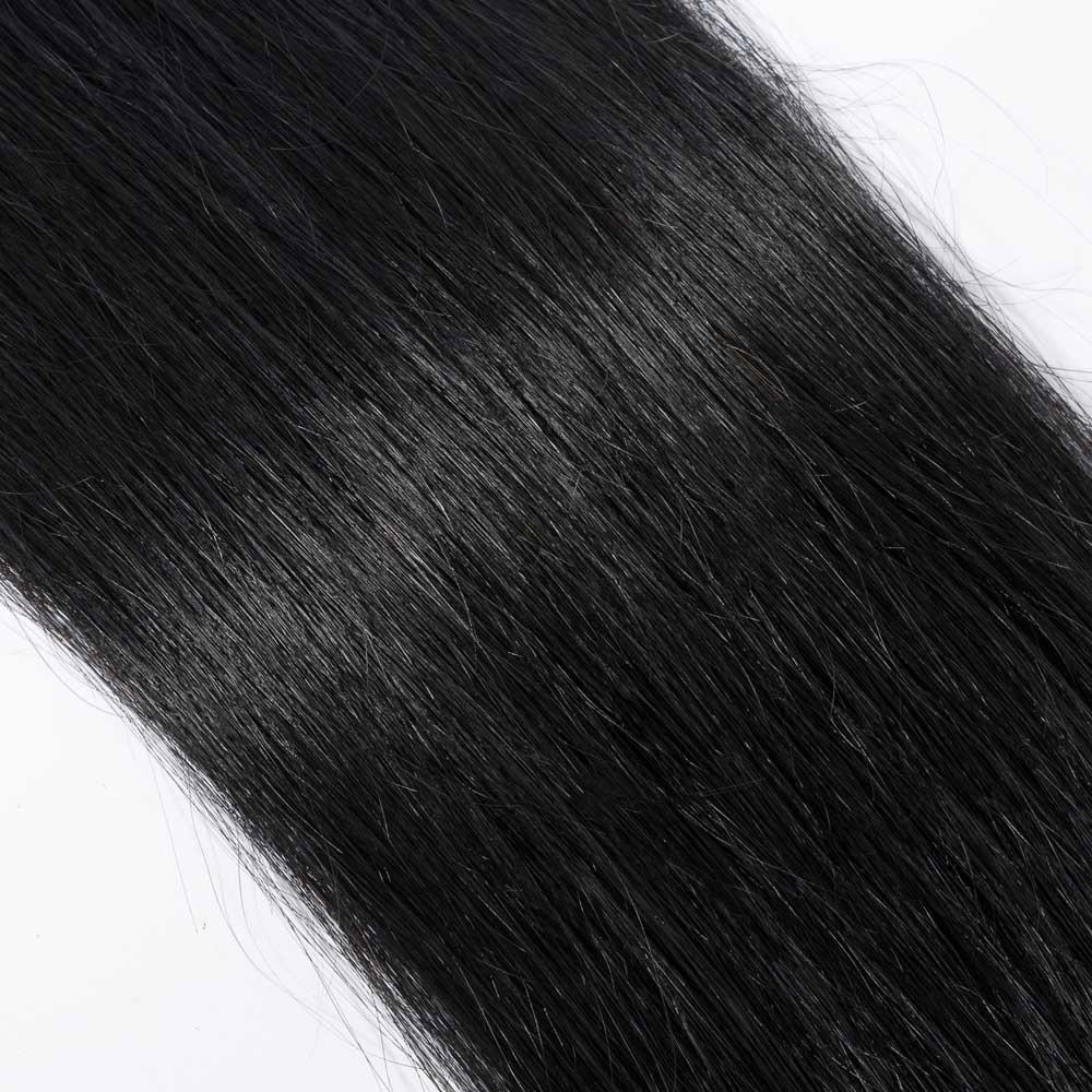 50g 05gs Straight I Tip Hair Extensions 613 Bleach Blonde