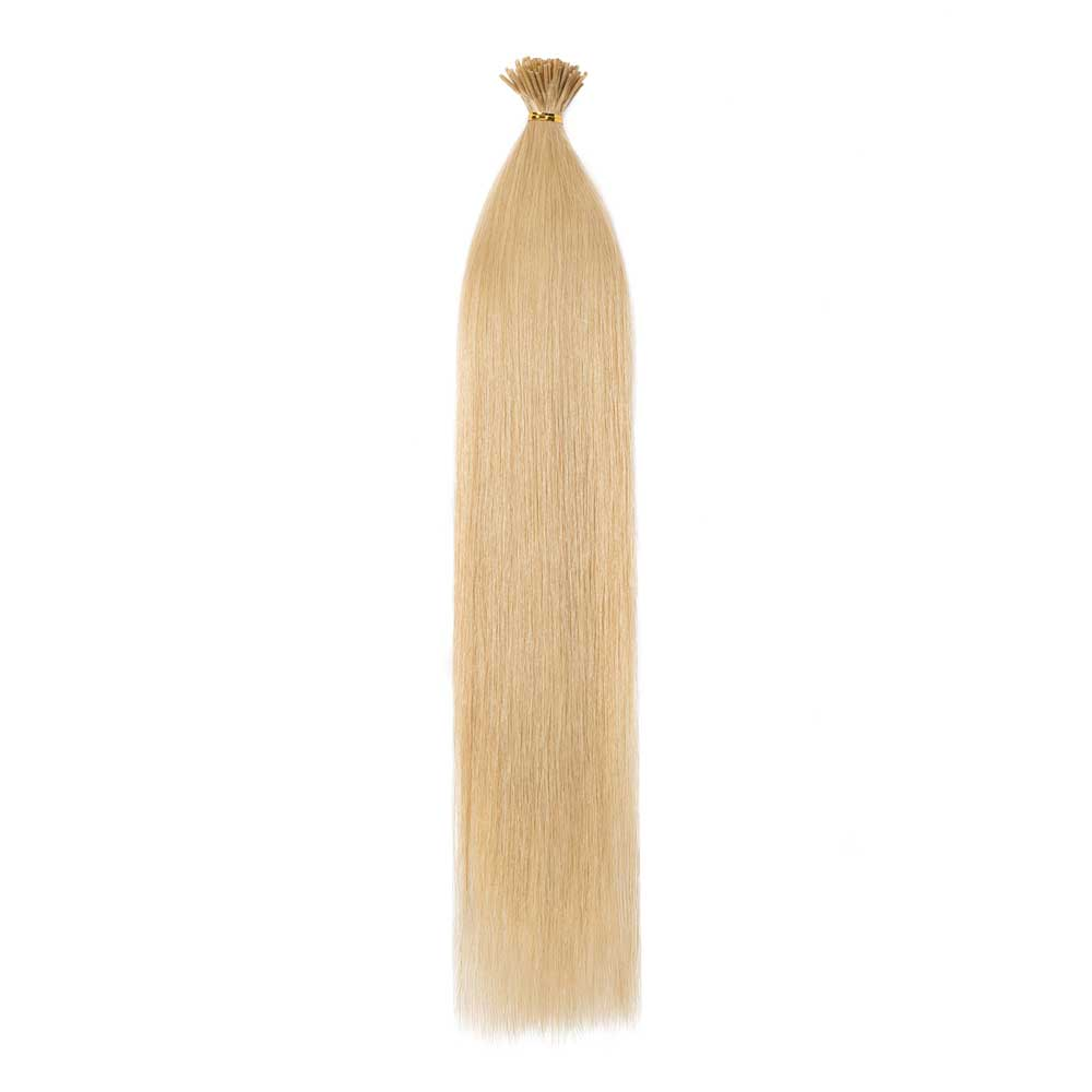 50g 0.5g/s Straight I-Tip Hair Extensions #24 Ash Blonde