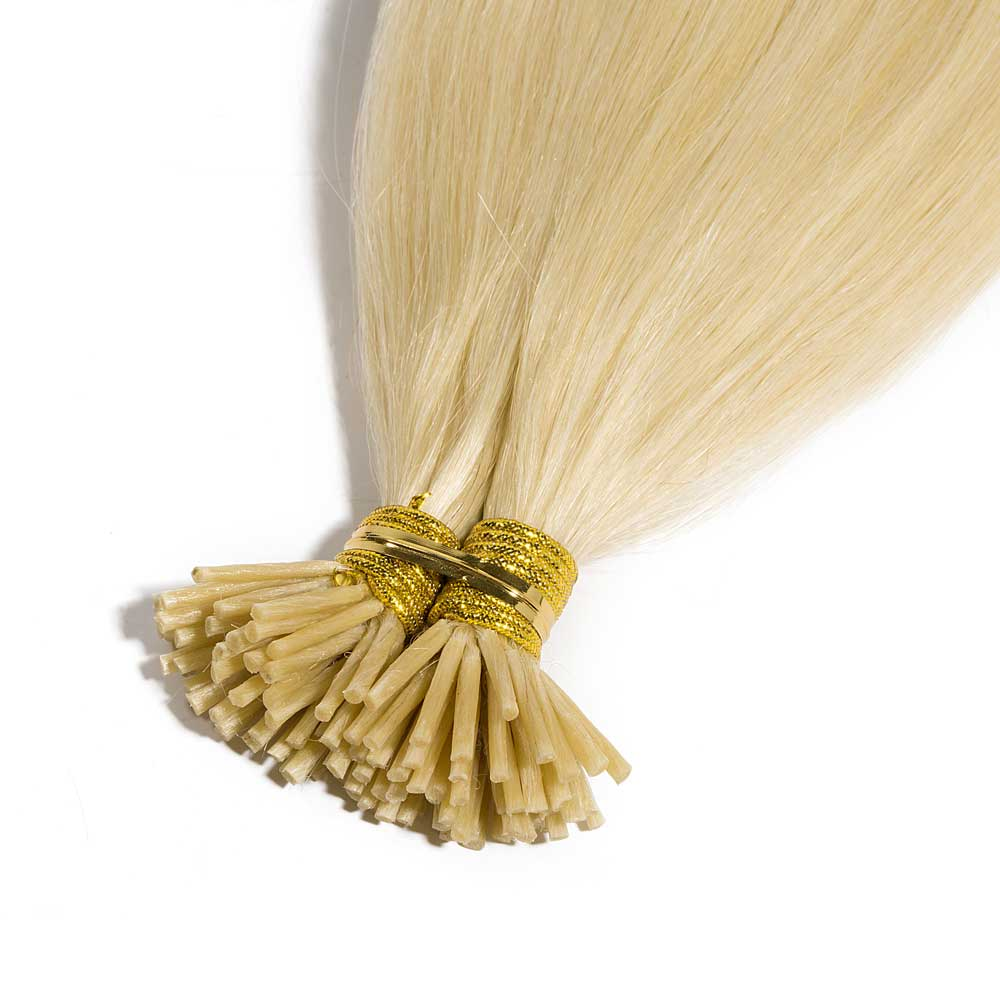 50g 05gs straight i tip hair extensions 613 bleach blonde pmusecretfo Image collections
