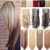 8 Pcs Curly Synthetic Clip In Hair Extensions