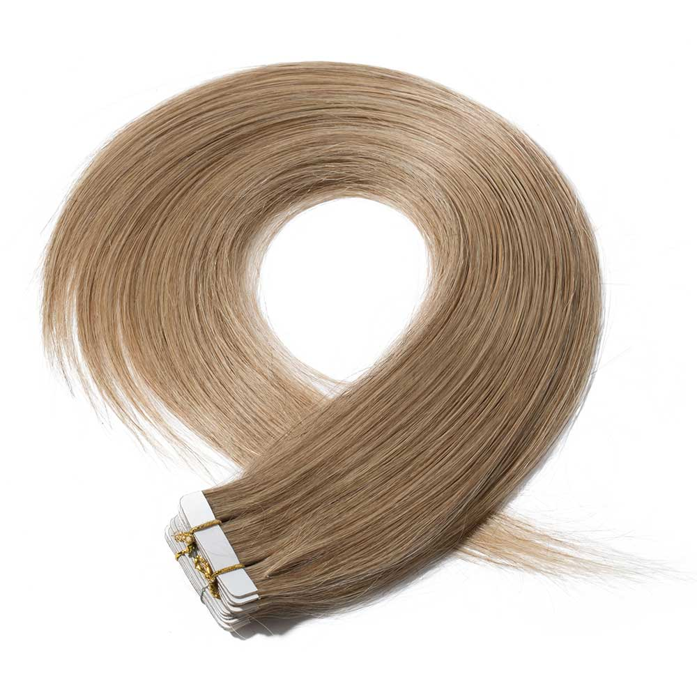 25gs 20pcs Straight Tape In Hair Extensions 27 Dark Blonde