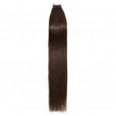 2.5g/s 20pcs Straight Tape In Hair Extensions #4 Medium Brown