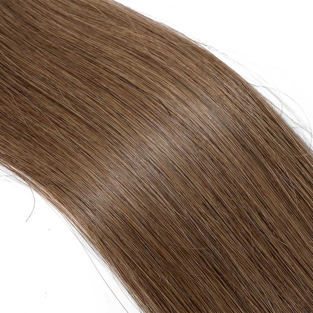 25gs 20pcs straight tape in hair extensions 6 light brown pmusecretfo Images