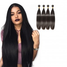 4 Bundles Straight 6A Virgin Brazilian Hair 400g
