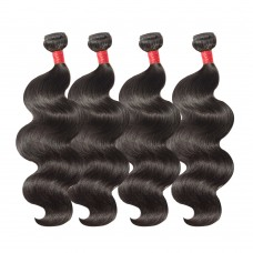 4 Bundles Body Wavy 6A Virgin Malaysian Hair 400g