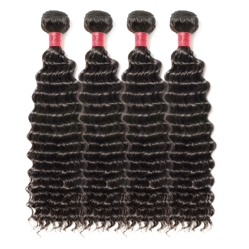 4 Bundles Deep Curly 6A Virgin Malaysian Hair 400g