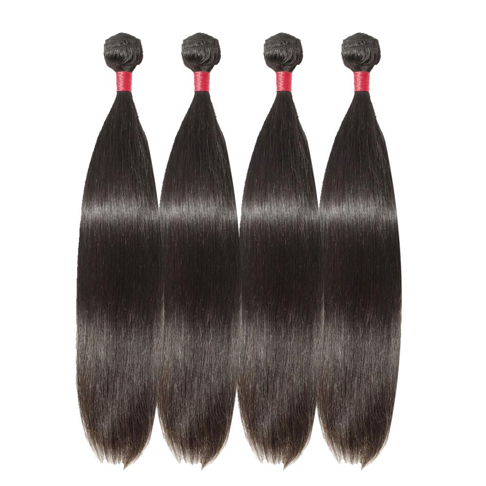 4 Bundles Straight 6A Virgin Malaysian Hair 400g
