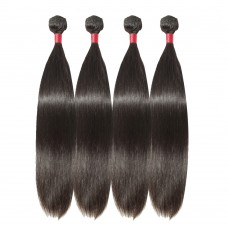 4 Bundles Straight 6A Virgin Malaysian Hair 400g