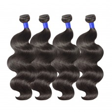 4 Bundles Body Wavy 6A Virgin Peruvian Hair 400g