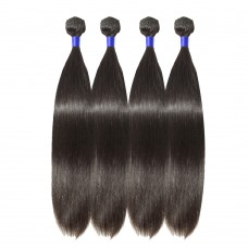 4 Bundles Straight 6A Virgin Peruvian Hair 400g