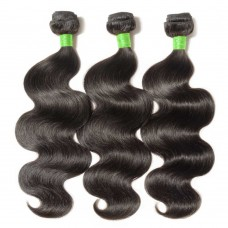 3 Bundles Body Wavy 7A Virgin Brazilian Hair 300g