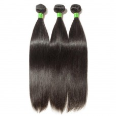 3 Bundles Straight 7A Virgin Brazilian Hair 300g