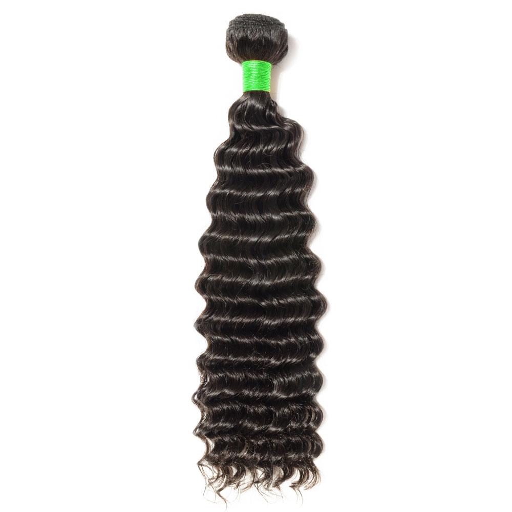"""12""""-24"""" 7A Deep Curly Virgin Brazilian Hair 100g"""