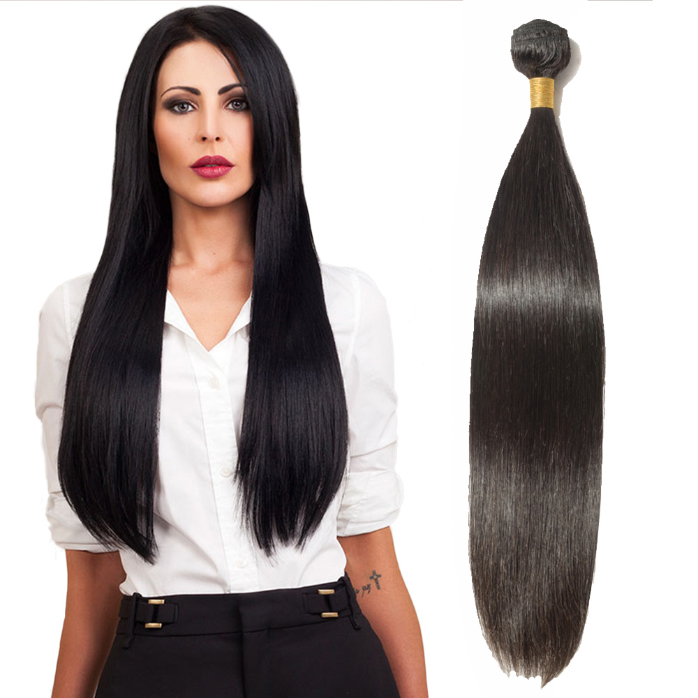 "10""-24""  6A Straight Virgin Brazilian Hair 100g"