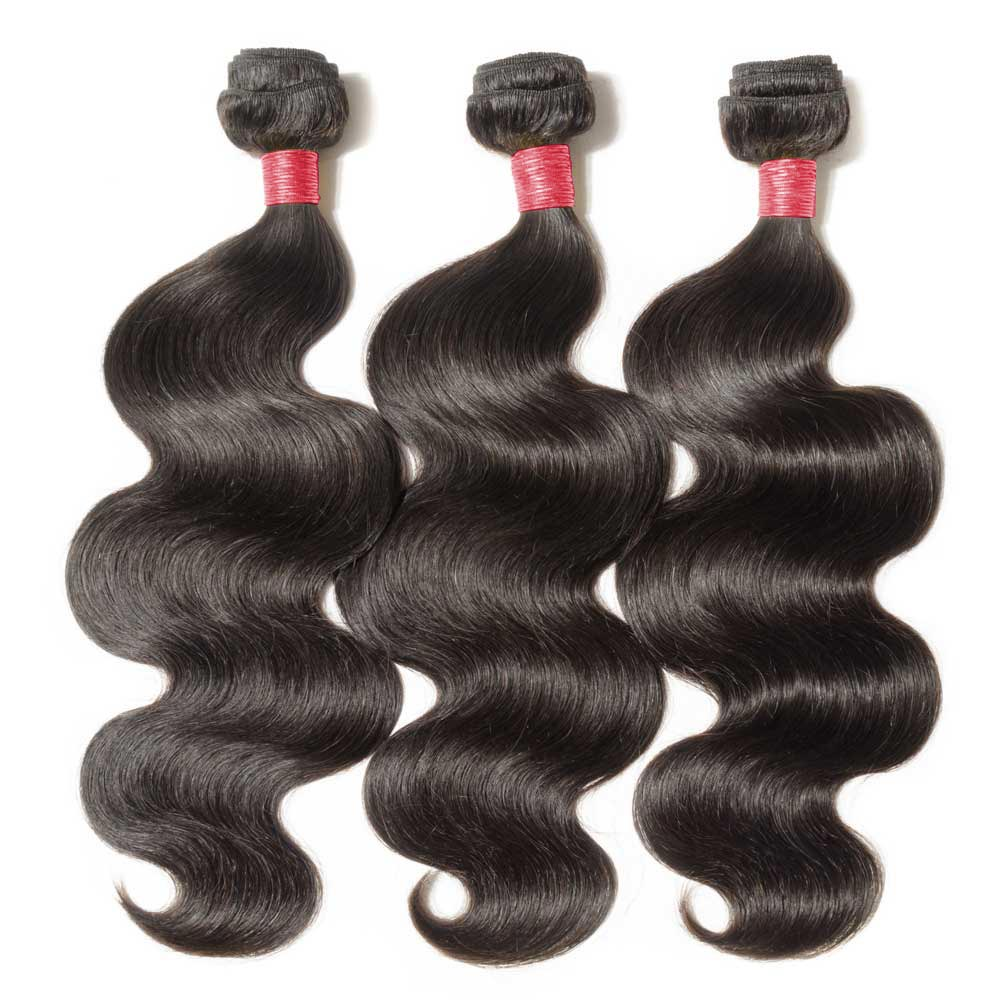 3 Bundles Body Wavy 6A Virgin Malaysian Hair 300g