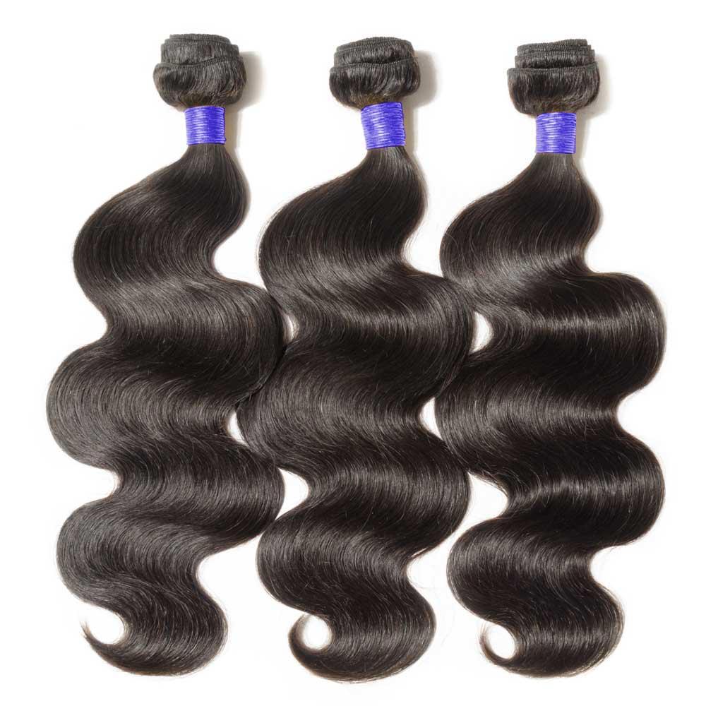 3 Bundles Body Wavy 6A Virgin Peruvian Hair 300g
