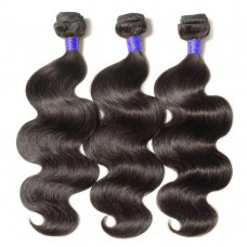 3 Bundles Body Wavy 6A Virgin Peruvian Hair 300g