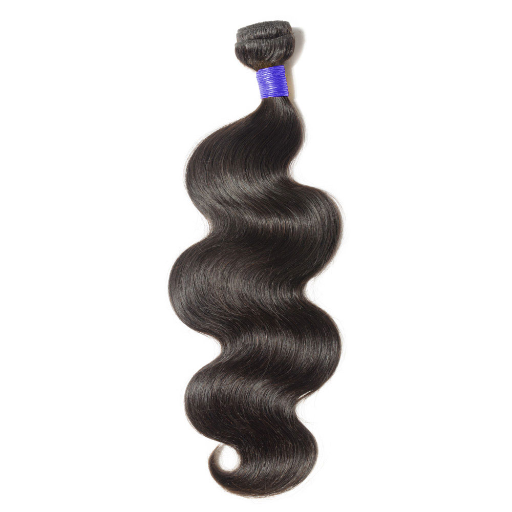 "10""-24""  6A Body Wavy Virgin Peruvian Hair 100g"