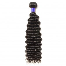 "10""-24"" 6A  Deep Curly  Virgin Peruvian Hair 100g"