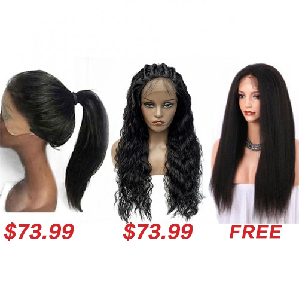 Synthetic Curly Wigs Buy 2 Get 1 Free TWS05