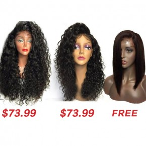 Synthetic Curly Wigs Buy 2 Get 1 Free TWS11
